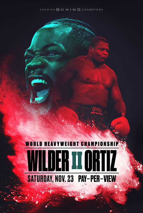 Wilder vs Ortiz boxing on Armstrong Pay-per-View