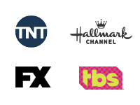 TNT, Hallmark Channel, FX, TBS