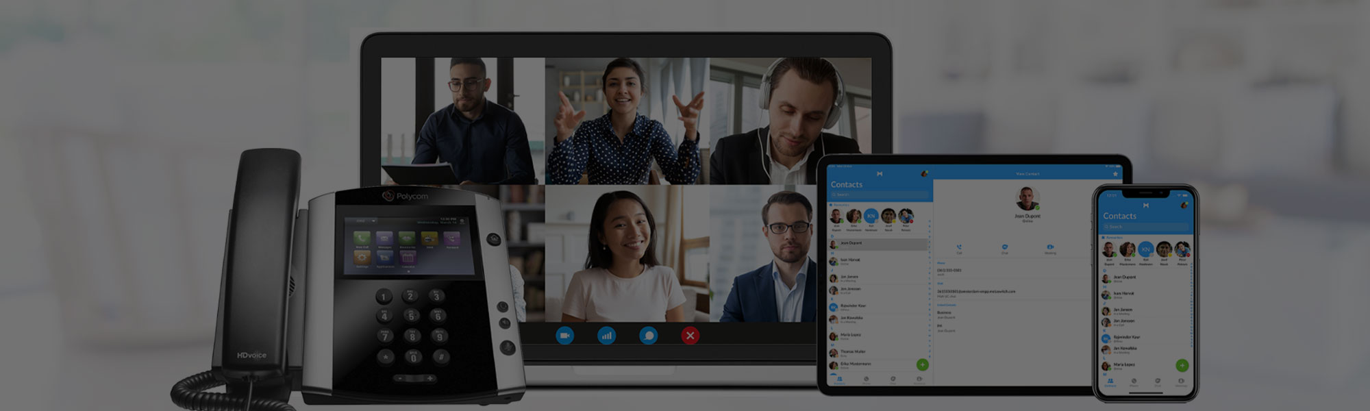 Unified Voice Hosted PBX