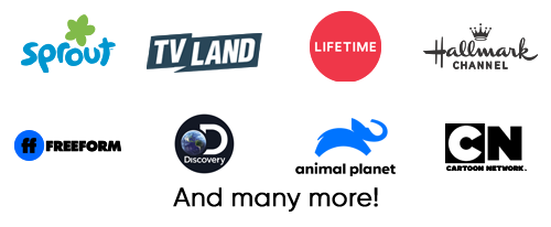Family programming Armstrong On Demand with Sprout, TV Land, Lifetime, Hallmark Channel, FreeForm, Discovery, Animal Planet, Cartoon Network, and much more!