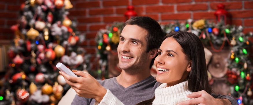 Your TV is near to bring holiday joy and cheer!