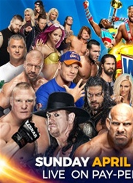 WrestleMania 33 on April 2