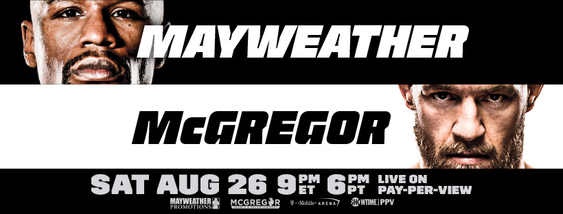 Live Pay-Per-View Event: Mayweather vs. McGregor
