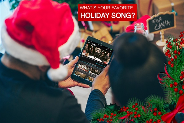 FREE Holiday Music