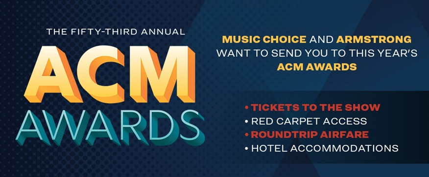 Enter to Win a Trip to the ACM Awards