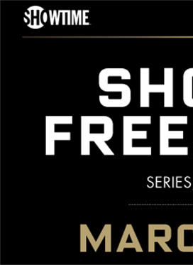 Showtime Free Preview Weekend