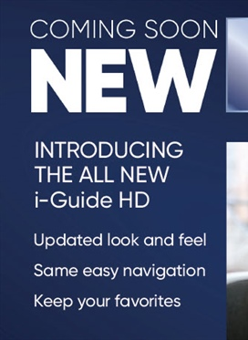 Coming Soon: New HD On Screen Guide