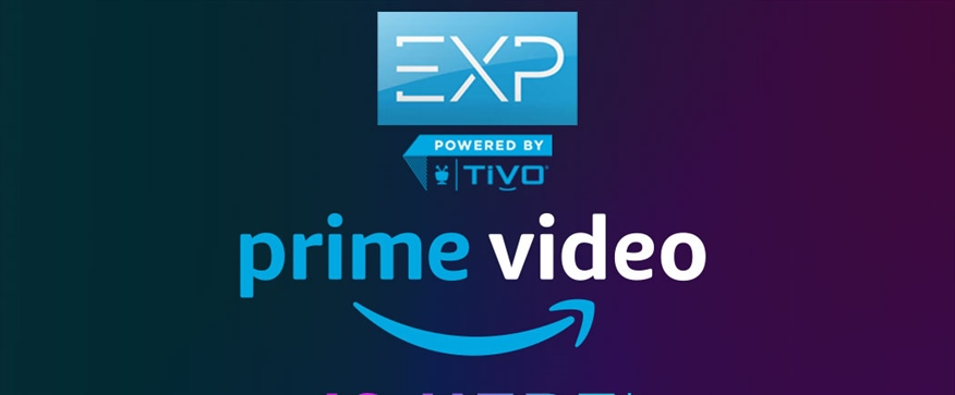 Amazon Prime Video now available on EXP!